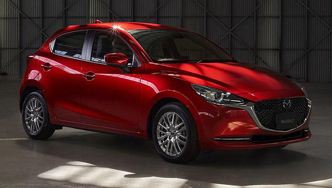 Lộ diện hình ảnh của Mazda2 phiên bản facelift 2019 - 2