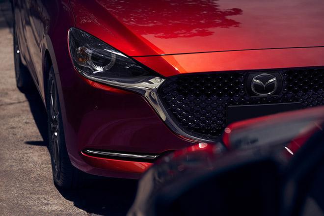 Lộ diện hình ảnh của Mazda2 phiên bản facelift 2019 - 3