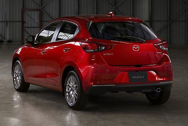 Lộ diện hình ảnh của Mazda2 phiên bản facelift 2019 - 4