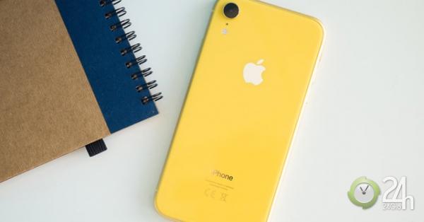 Rẻ, đẹp dung dị giúp iPhone XR vẫn được ưa chuộng nhất quý 2