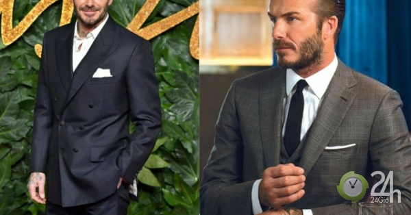 Vì sao David Beckham thường không bao giờ cài cúc đầu tiên của bộ suit?