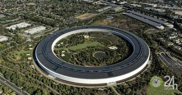 Kiệt tác tàu vũ trụ của Apple Park là một trong những tòa nhà đắt nhất thế giới