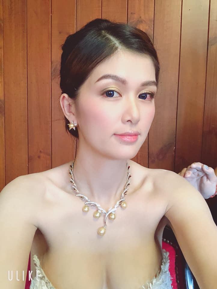 Hoa hậu quê Vũng Tàu mở tiệc trên du thuyền lớn nhất sông Sài thành - 11