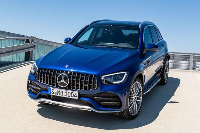 Mercedes-AMG GLC 43 4Matic 2020 được dự đoán ra mắt cuối năm nay