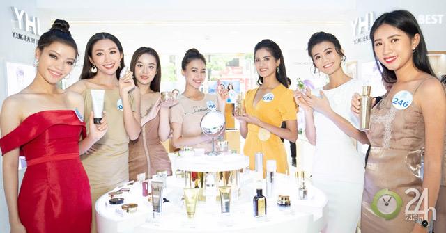 Bí mật đằng sau sắc vóc rạng rỡ của thí sinh Miss World Vietnam 2019