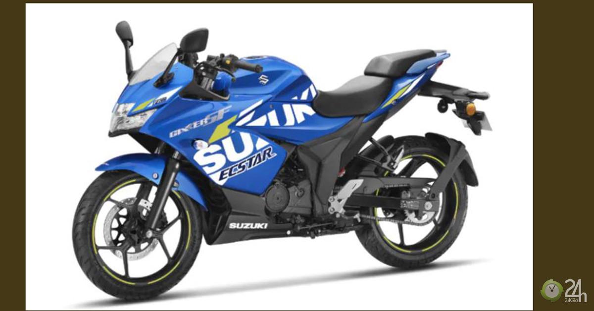 Lộ diện Suzuki Gixxer SF MotoGP Edition, bộ tem Moto GP đẹp mắt