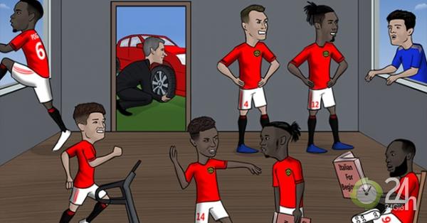Ảnh chế MU và Arsenal vẫn đang loay hoay trên thị trường chuyển nhượng