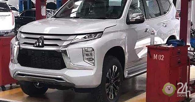 Mitsubishi Pajero mới lộ ảnh nóng trước ngày ra mắt tại Thái Lan