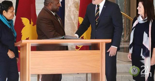 Đến Úc, Thủ tướng Papua New Guinea khuyên đừng nhắc về Trung Quốc-Thế giới