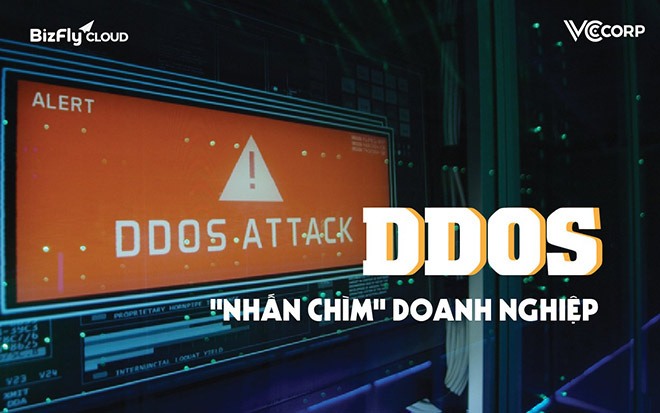 """Hãy cẩn thận với DDoS - cuộc tấn công có khả năng """"nhấn chìm"""" doanh nghiệp - 1"""