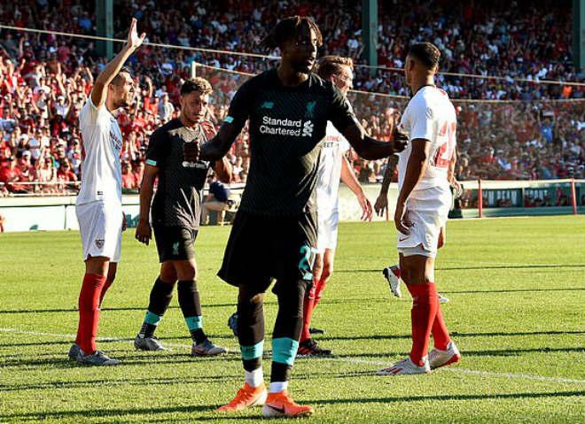 """Video, kết quả bóng đá Liverpool - Sevilla: Hàng thủ mơ ngủ, """"gáo nước lạnh"""" phút 90 - 1"""