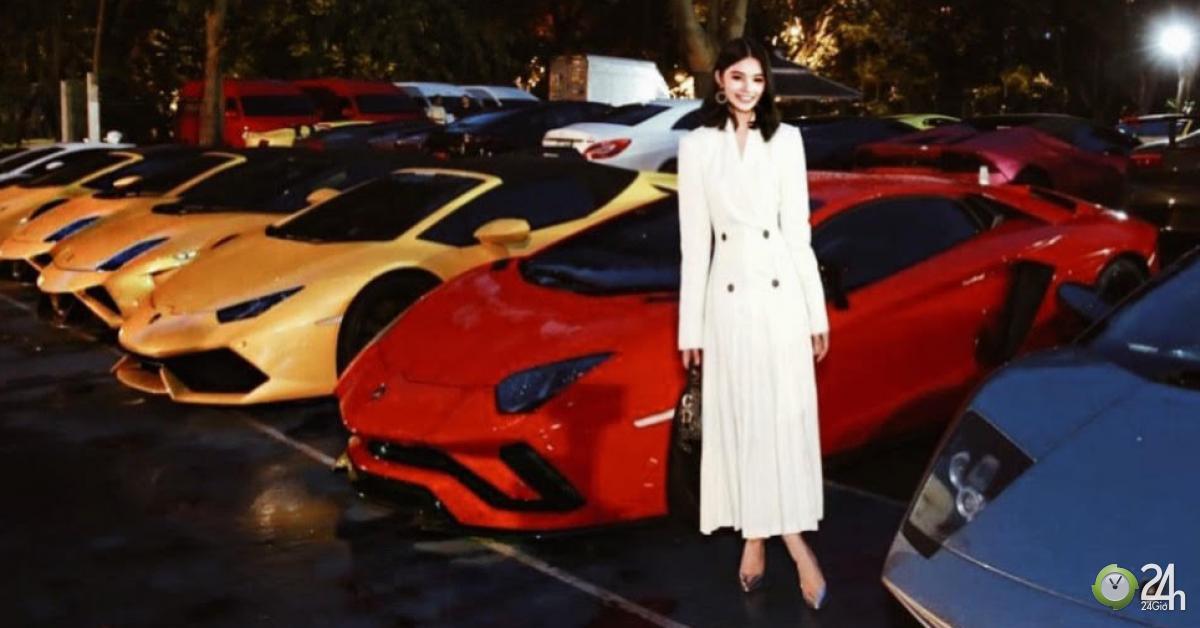 Mỹ nữ Việt duy nhất dự tiệc siêu xe nghìn tỷ của giới siêu giàu Thái Lan