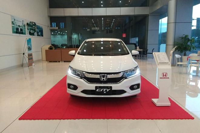 Bảng giá xe Honda City 2019, ưu đãi quà tặng lên tới 20 triệu VNĐ