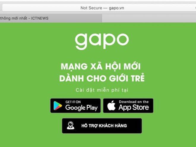 Gặp nhiều lỗi trong ngày đầu ra mắt, MXH Gapo thông báo bảo trì hệ thống