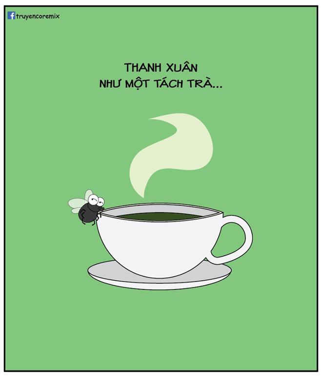 """Xôn xao trào lưu """"tách trà"""" đang hot trên mạng xã hội - 1"""