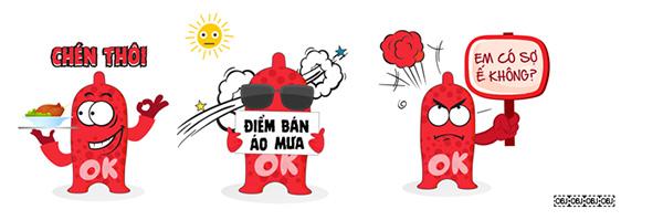 Hôm nay, bộ sticker về bao cao su hết sức ngộ nghĩnh đã có trên nền tảng Zalo - 2