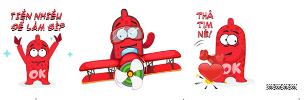 Hôm nay, bộ sticker về bao cao su hết sức ngộ nghĩnh đã có trên nền tảng Zalo - 3