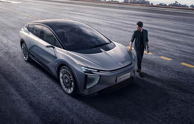 Xe chạy điện do Trung Quốc sản xuất ăn theo kiểu dáng Mitsubishi Xpander và Nissan Livina - 1