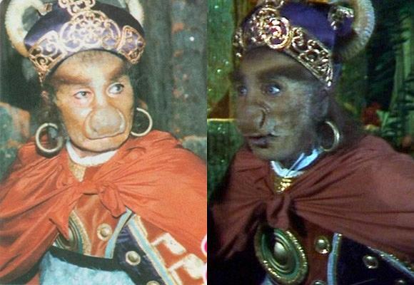 Ngả mũ với khả năng hóa trang của Tây Du Ký 1986: Đỉnh cao nhất là Phật Tổ - 6