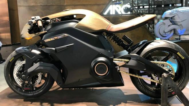 Siêu môtô điện 2020 Arc Vector sắp lăn bánh, gây chấn động làng xe - 1