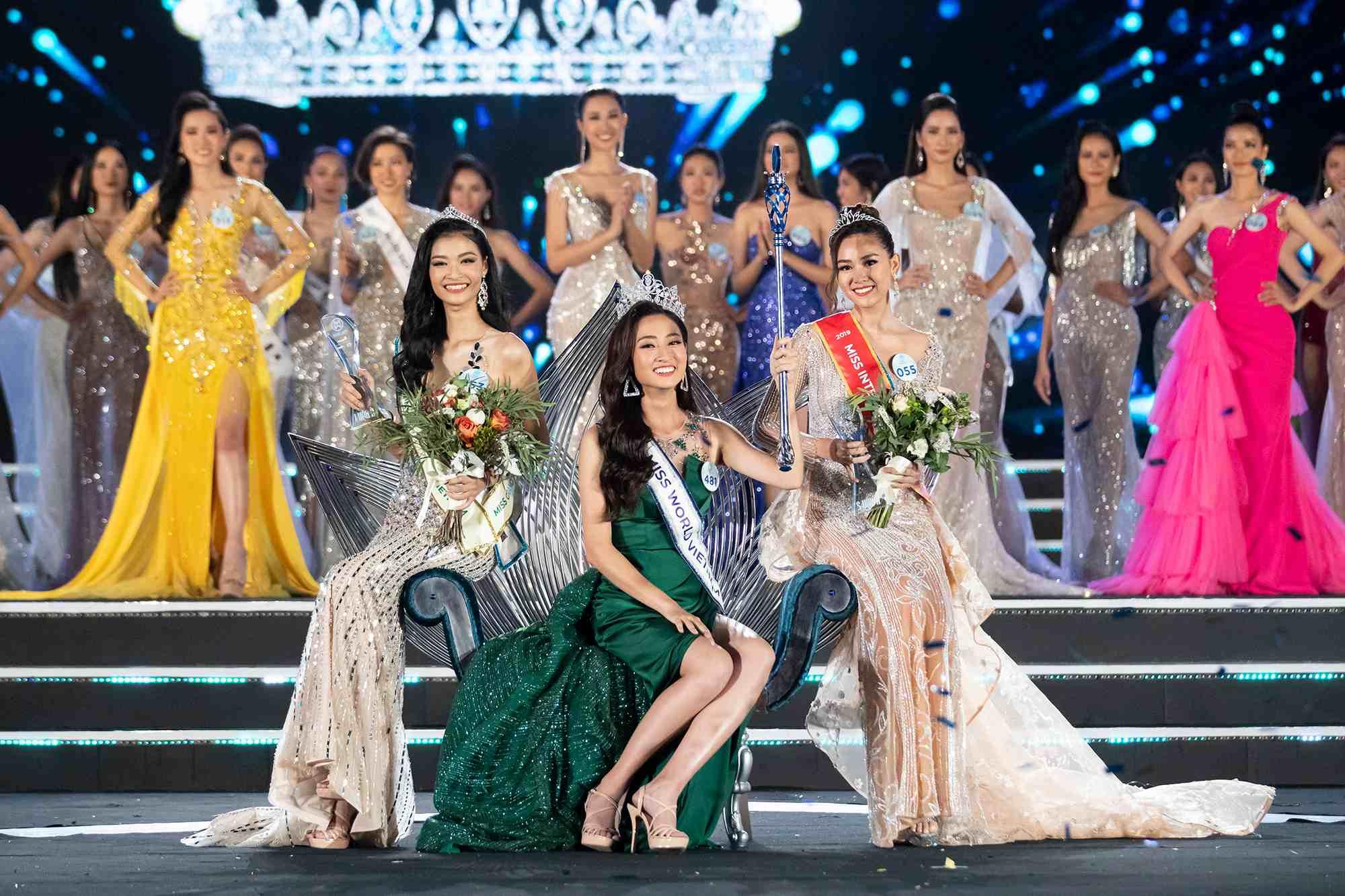 Nữ sinh Ngoại thương quê Cao Bằng đăng quang Hoa hậu Thế giới Việt Nam 2019 - 2
