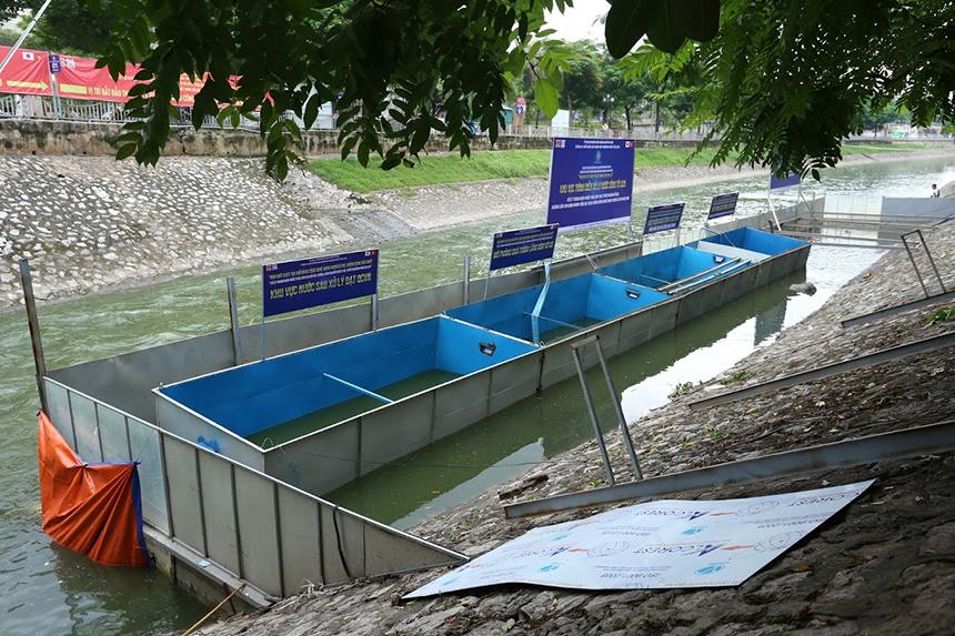 Chuyên gia Nhật Bản cho lắp bể, lên kế hoạch tắm bằng nước Tô Lịch - 3