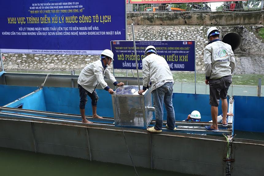 Chuyên gia Nhật Bản cho lắp bể, lên kế hoạch tắm bằng nước Tô Lịch - 4