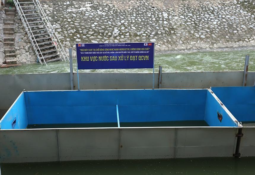 Chuyên gia Nhật Bản cho lắp bể, lên kế hoạch tắm bằng nước Tô Lịch - 7