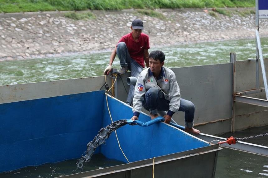 Chuyên gia Nhật Bản cho lắp bể, lên kế hoạch tắm bằng nước Tô Lịch - 6