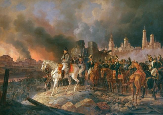 Napoleon đã quá nóng vội tiến vào Moscow năm 1841 và cuối cùng thất bại. - 4