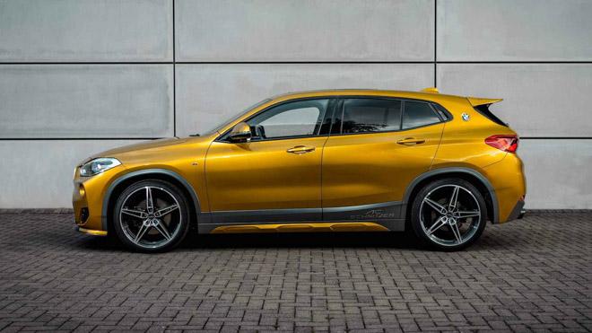 """BMW X2 """"lột xác"""" với gói độ mới đến từ hãng AC Schnitzer - 9"""
