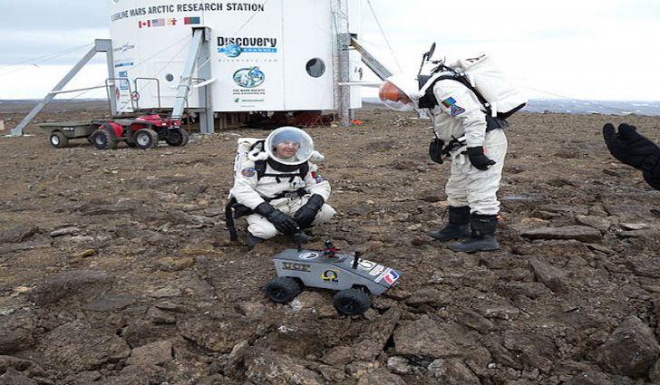 Hòn đảo lớn nhất thế giới nơi có môi trường sống như trên sao Hỏa - 1