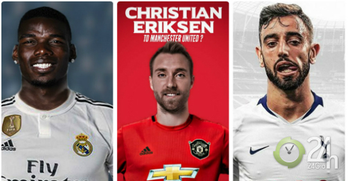 Choáng váng domino bom tấn hè: Nếu MU tậu Eriksen, Tottenham - Real sẽ mở hội