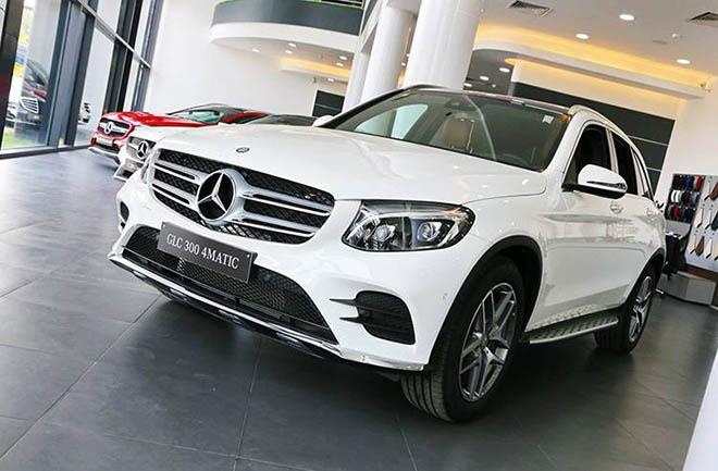 Bảng giá xe Mercedes-Benz GLC 2019 mới nhất, tặng 100% thuế trước bạ khi mua xe GLC200 - 6