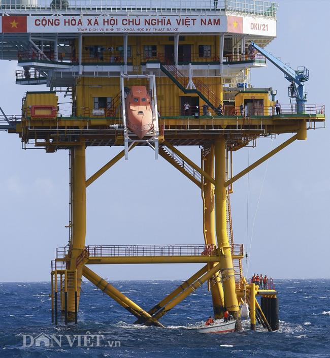 Ảnh: Nhà giàn DK1- cột mốc chủ quyền quốc gia nơi đầu sóng ngọn gió - 2
