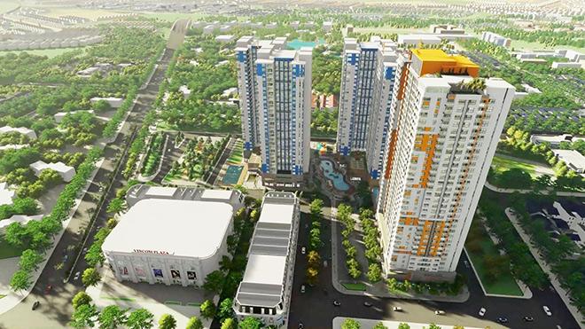 Tiềm lực chủ đầu tư dự án căn hộ đầu tiên có Vincom tại Bình Dương - 1