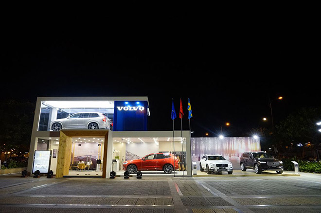 Volvo Việt Nam mang showroom di động đến hai TP. Lào Cai và Vinh - 1