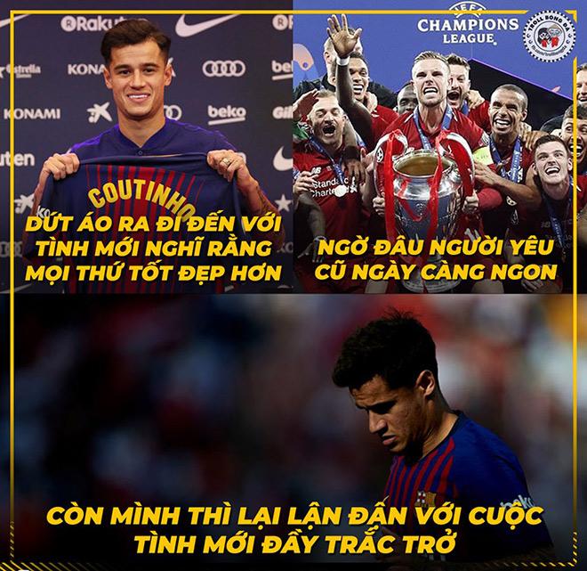 Barca thua sốc trận mở màn, anti fan được dịp hả hê chế ảnh - 6