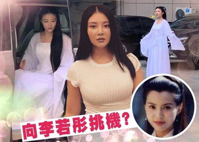 'Bom sexy' đóng Tiểu Long Nữ bị phản đối vì khoe thân, ồn ào bán dâm - 1