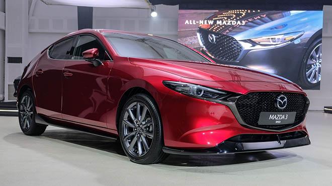 Mazda3 2019 lại bị triệu hồi do lỗi rơi gương chiếu hậu tại Bắc Mỹ