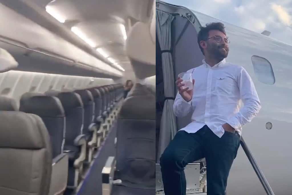 Máy bay 78 chỗ chở duy nhất 1 hành khách: Tiết lộ sự thật khiến mọi người ngã ngửa