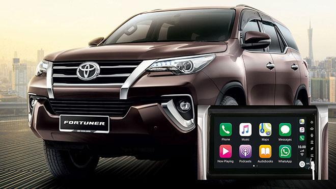 Toyota Innova và Fortuner sẽ được nâng cấp màn hình giải trí 9.0 inch - 1