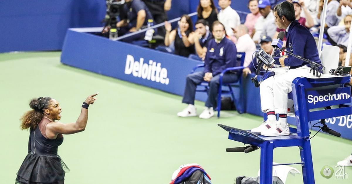 Chấn động US Open: 138 năm hiếm có, 6 lần vô địch - 3 lần chửi như hát hay