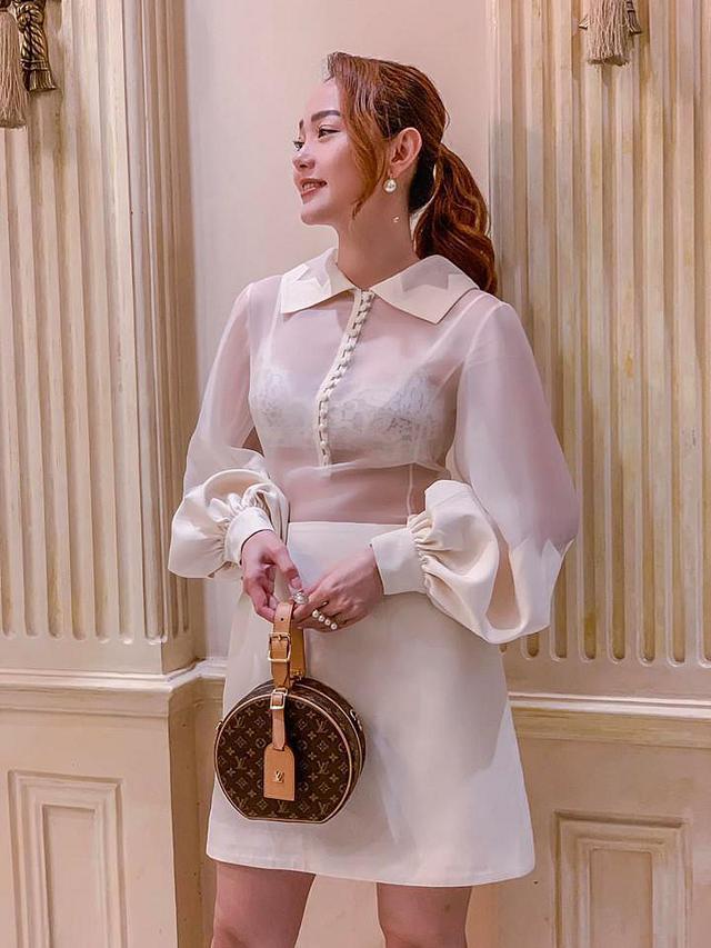 Bộ ảnh thời trang diện váy ngủ khoe vẻ đẹp tuổi thanh xuân của Minh Hằng - 7