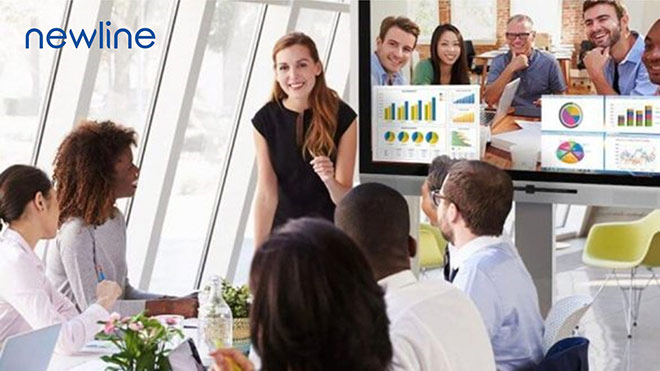 Màn hình tương tác thông minh Newline thiết bị cần thiết cho giáo dục và các doanh nghiệp - 3