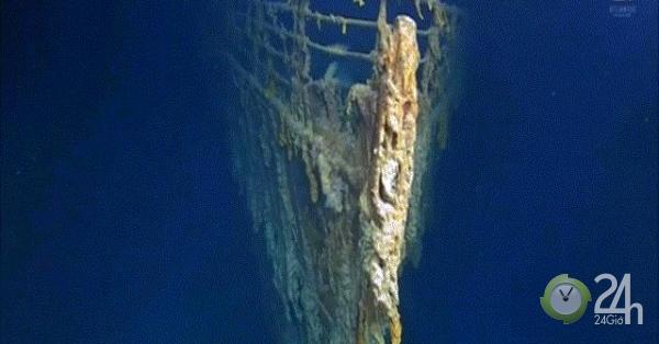 """Hình ảnh rõ ràng nhất về tàu Titanic huyền thoại: Không được """"yên nghỉ"""" dưới đáy biển 4.000m-Thế giới"""