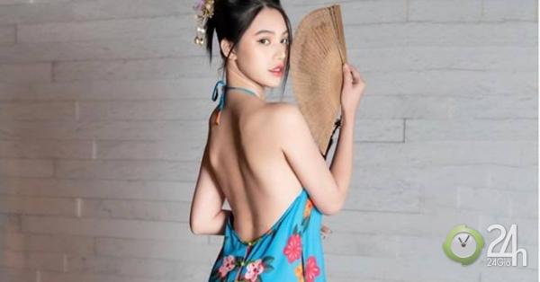 Trung thu chưa tới, hoa hậu con nhà giàu Jolie Nguyễn đã làm chị Hằng với yếm
