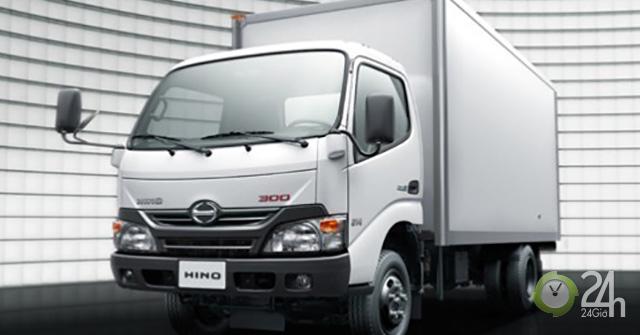 Triệu hồi 40 xe tải Hino Motor tại Việt Nam vì lỗi cụm cầu sau