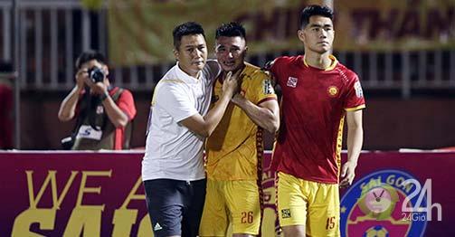 Học trò HLV Park Hang Seo khóc nức nở sau trận CLB Thanh Hoá thua-Bóng đá 24h