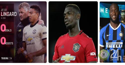 SAO MU đá 8 tháng 0 bàn, 0 kiến tạo: Pogba, Lukaku cay đắng bị trách oan?-Bóng đá 24h